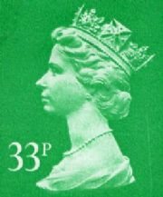 33p Cheap GB Postage Stamp